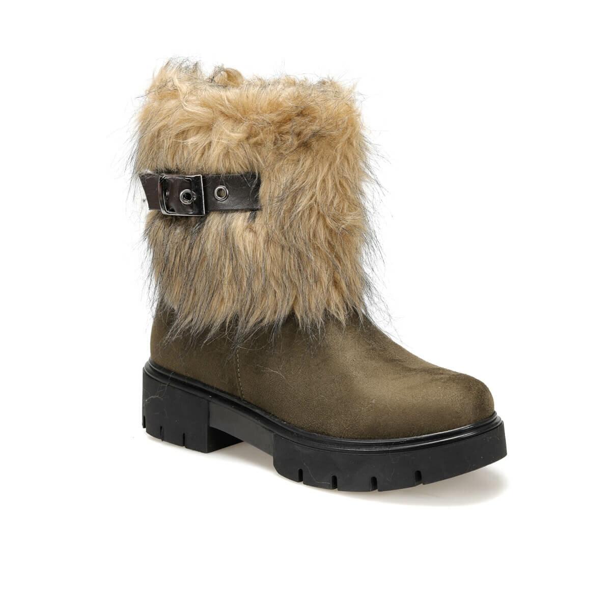 فلو تايتيا56z كاكي أحذية نسائية بوتيجو