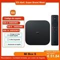 Приставка Смарт-ТВ Xiaomi Mi Box S, 4k Ultra HD, 2 + 8 Гб, Wi-Fi, BT 4,2