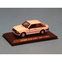 Модель автомобиля FORD ESCORT Vehicle миниатюрная винтажная Коллекционная Автомобильная шкала