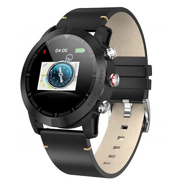 Часы CARCAM SMART WATCH S10   BLACK, Черная кожа Смарт-часы      АлиЭкспресс