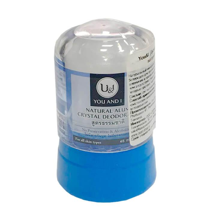 Deodorant Crystal You & I Alum Crystal Deodorant-natural