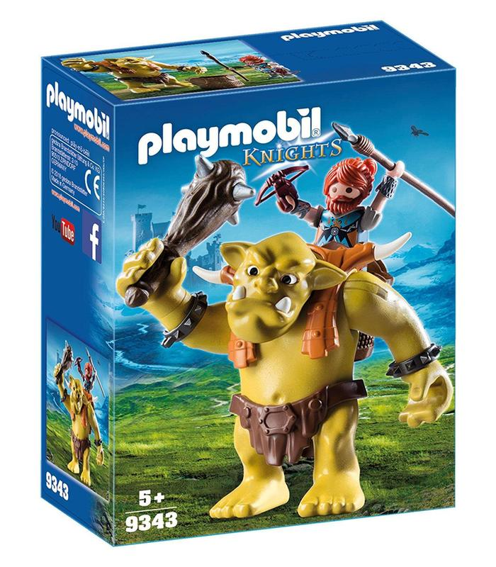 9343 Playmobil Troll Giant Backpack Dwarf Toy Store Articles Created Handbook