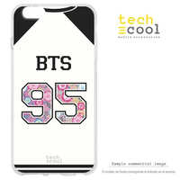 FunnyTech®Stand case for Huawei Matte Silicone 10 Lite L T-shirt Group listening BTS 95