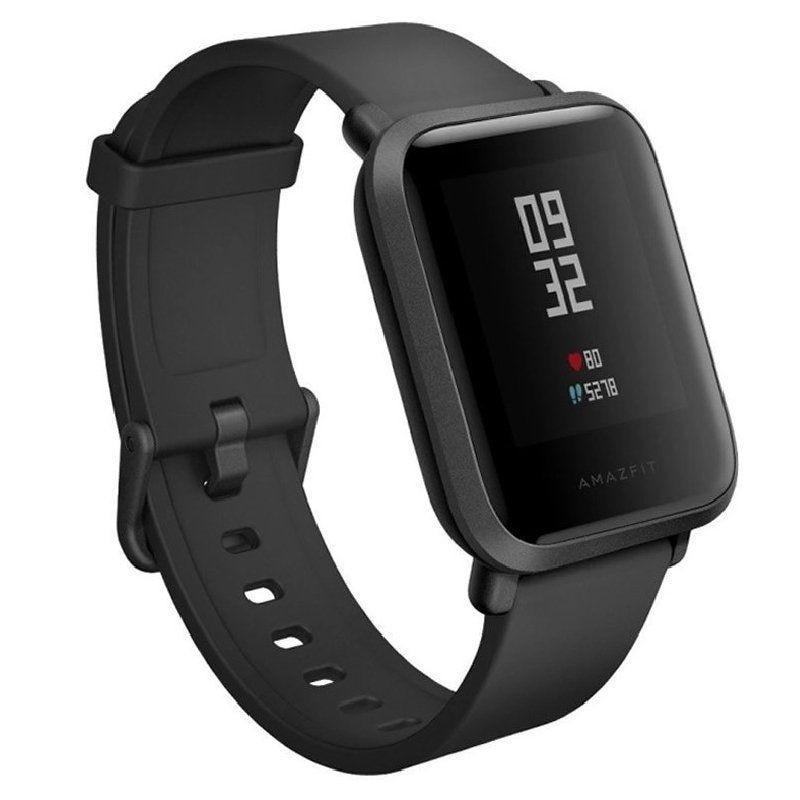 Huami Smart Watch Amazfit Bip Lite Black-3.25cm-bt 4.2-heart Rate Sensor-ip68-bat.200mah