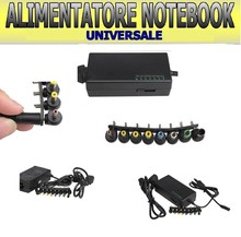 UNIVERSAL POWER SUPPLY 120W PC LAPTOP USB OFFICE HOME NOTEBOOK 8 ADAPTERS