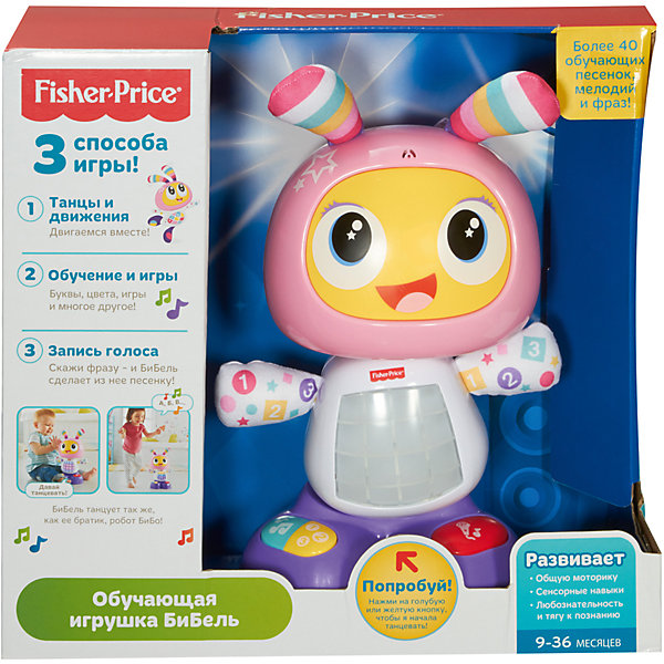 Interactive Toy Fisher-Price Educational Robot Bebel