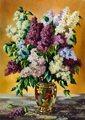 Nova 1000 парча ваза да Сирень головоломка-ваза цветок комплект