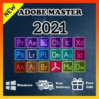 Adobe Creative Cloud 2021 | Adobe Master Collection CC 2021 | Полная версия | Пожизненная активация | ️Многоязычная |