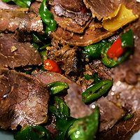 美食记之十五:尖椒炒水牛肉的做法图解7