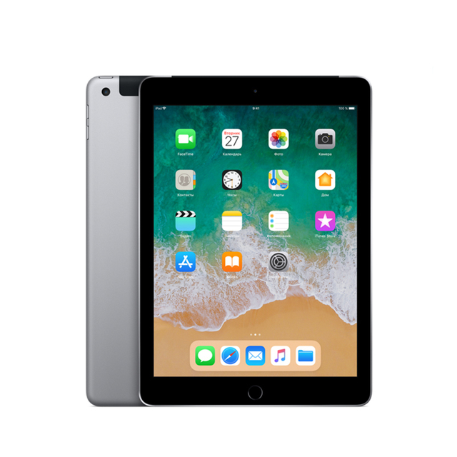 "Планшет Apple iPad Wi-Fi+Cellular 9.7"" 128 ГБ (2018)"
