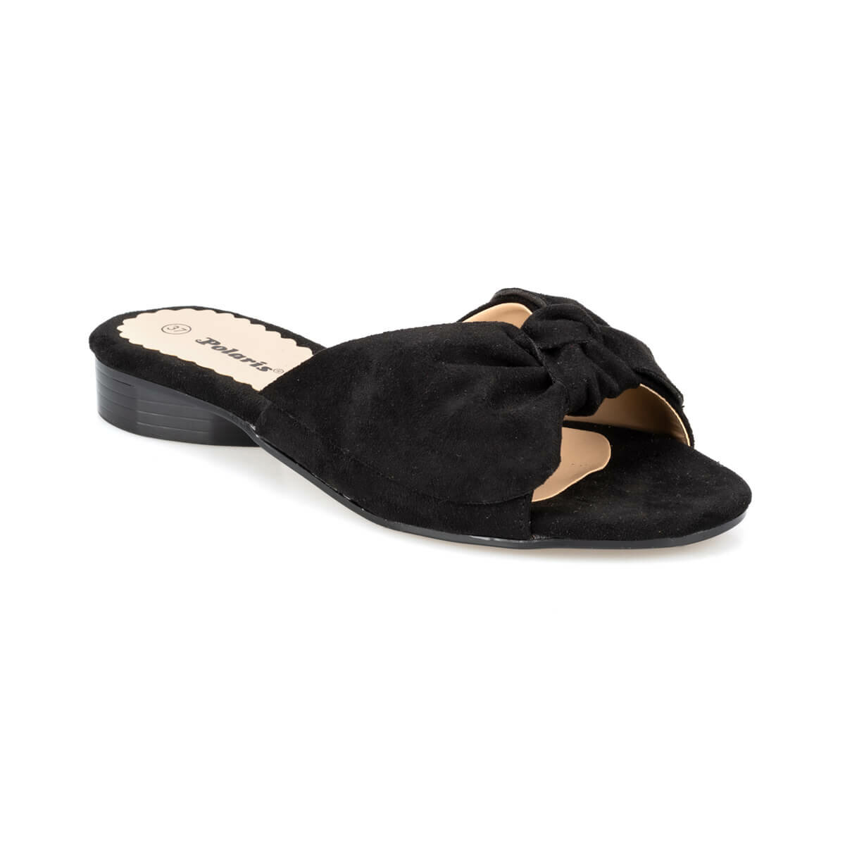 FLO 91.313279.Z Black Female Slippers Polaris