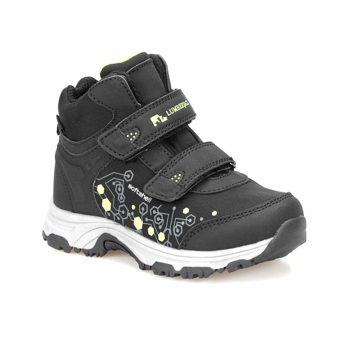 FLO SPAGO HI Black Male Child Boots LUMBERJACK