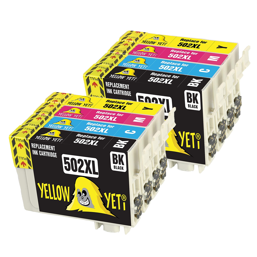 Compatible Epson 502XL Ink Cartridge 502 T502XL For Epson Expression HomeWF-2860DWF WF-2865DWF XP-5100 XP-5105 Printer