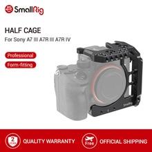 SmallRig yarım kafes Sony A7 III A7R III A7R IV Dslr kamera kafesi ile NATO ray/soğuk ayakkabı Video çekim kafesi seti 2629