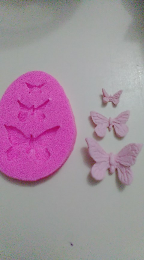 Butterfly Silicone Moths and Butterflies Ribbon photo review