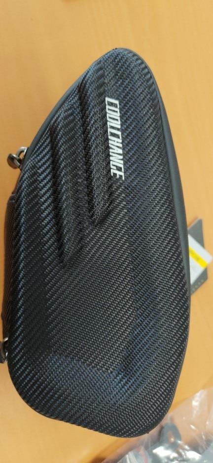Waterproof Black Nylon and PU Bicycle Seat Saddle Bag photo review