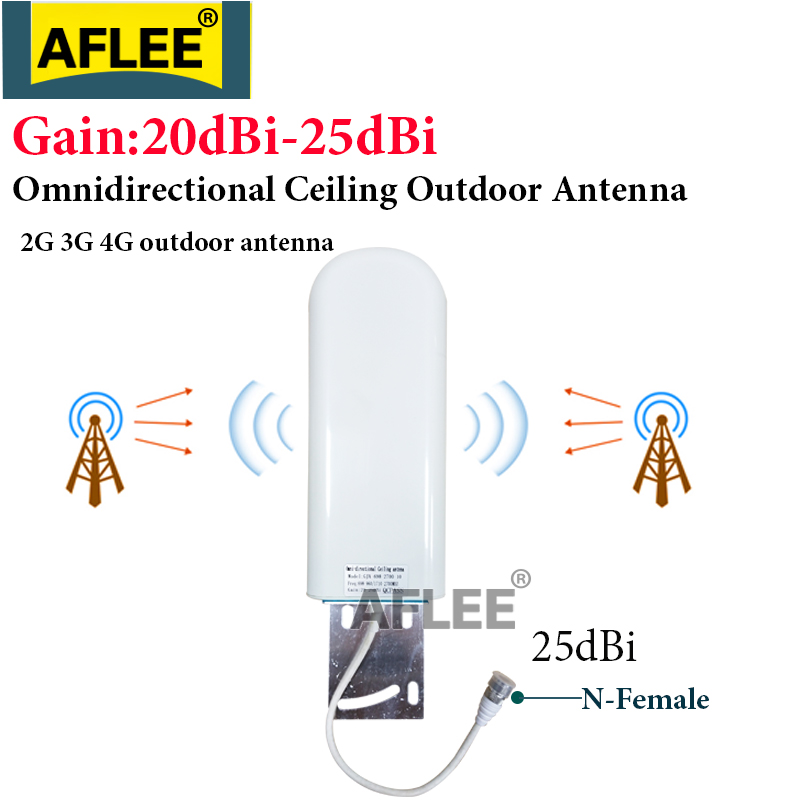 4G LTE Antenna 25dBi Outdoor Antenna GSM Antenna 3G 4G Booster Antenna  N Female For 2G 3G 4G LTE Mobile Signal Repeater Booster