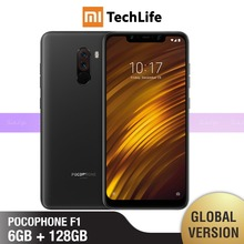 Global Version Xiaomi Pocophone F1 128GB ROM 6GB RAM (Brand New / Sealed) poco f1, poco 128, pocof1 Smartphone Mobile