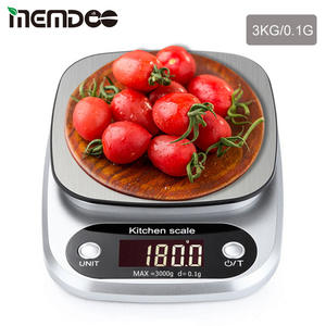 Kitchen-Scale Electronic-Weighing-Scale Baking-Weight Digital Mini LCD MEMDOO 10kg/G