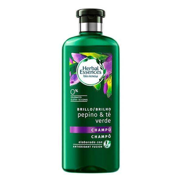 Revitalizing Shampoo Bio Brillo Pepino & Té Verde Herbal (400 Ml)