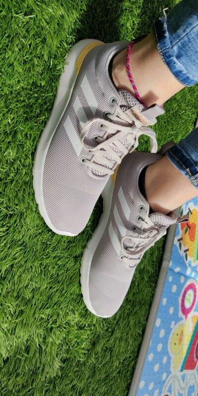 Adidas Lite Racer CLN, Zapatillas para Correr, Mujer, Cordones, Superior Malla, Cloudfoam, Plantilla OrthoLite - NUEVO ORIGINAL