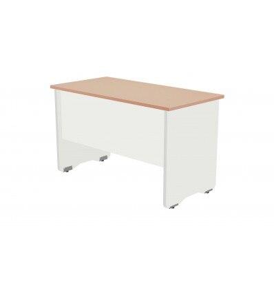 OFFICE TABLE SERIALS WORK 120X60 WHITE/OAK