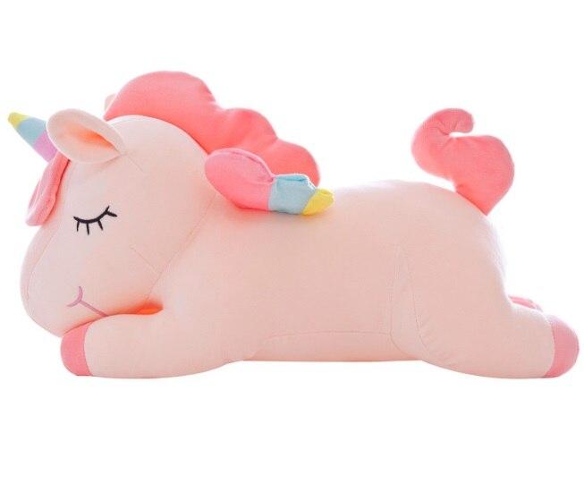Haute qualité grande licorne jouets doux en peluche et jouets en peluche peluche licorne cheval poupée enfants poupée pour enfants cadeau pas cher jouets