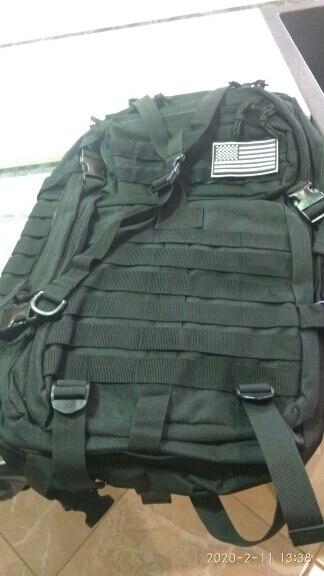 Mochila impermeable Mochila de uso para senderismo Blitzer Mochila militar con capacidad de 30 o 50 L caza y otras actividades al aire libre