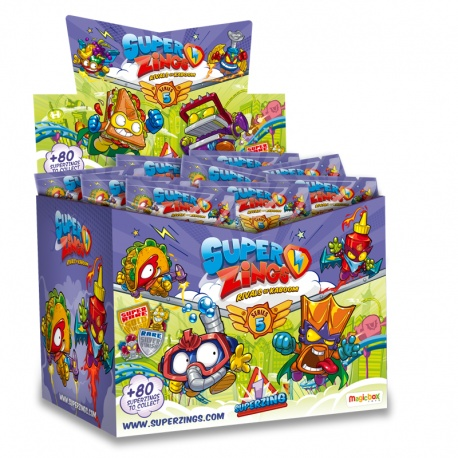 Superzings Series 5 ONEPACK (cash box 50's Envelopes)