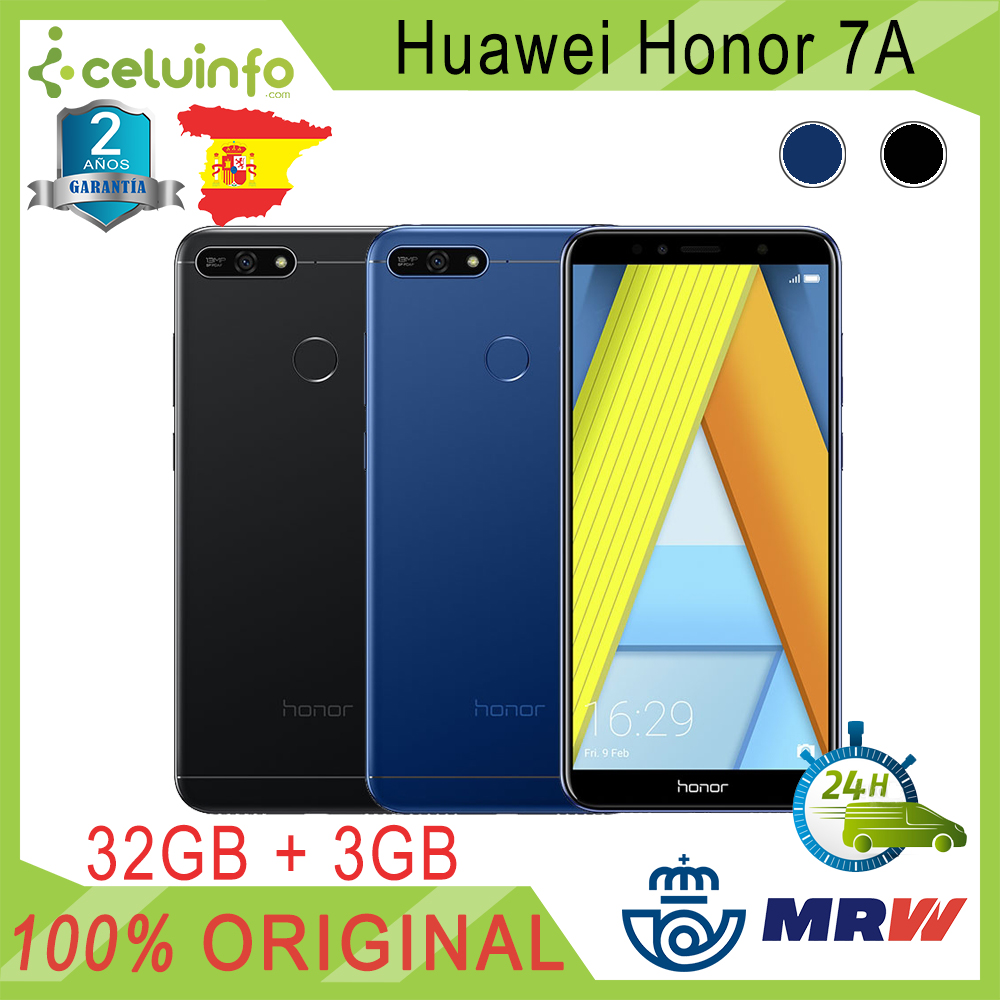 Huawei Honor 7A Premium 32G + 3G RAM Octa-core DUAL SIM With Footprint ID 5.7