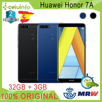 Huawei Honor 7A Premium 32G + 3G RAM Octa core DUAL SIM with fingerprint ID 5.7 Blue Black posted 2 years warranty sent from Spain