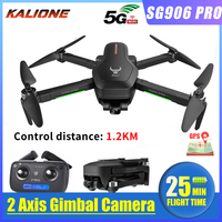 2020 SG906 Pro quadcopter GPS Drone with 4K 5G WIFI 2 axis gimbal Dual camera profissional Brushless ESC 50X Zoom 1.2KM 25mins