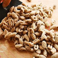 杂粮炒莜麦猫耳朵的做法图解9