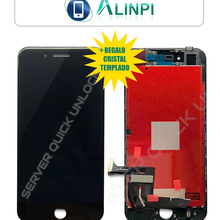 Pantalla Completa para iPhone 8 Negra Tactil Digitalizador + LCD + Marco Negro + Cristal Templado Calidad AAA+ Envio 24h