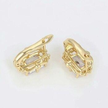 Earrings gold 18 K Catherine saloon 1