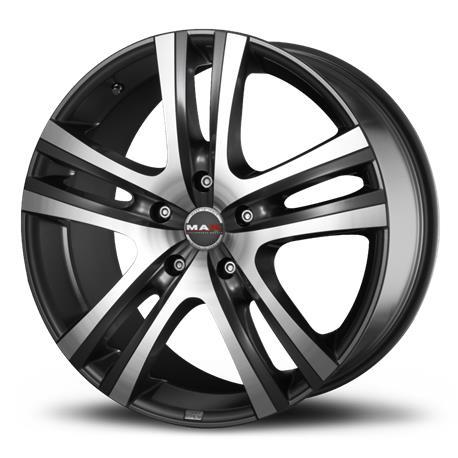 RIMS ARIA Mirror MAK 9.00x18 5X114.3 ET35 bushing 76.0|Tire Accessories| |  - title=
