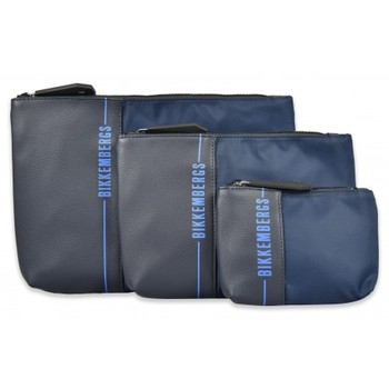4001020202031 - Mhateria Store - Bikkembergs - Tres bolsos de mano para hombre - E2APWE22009A