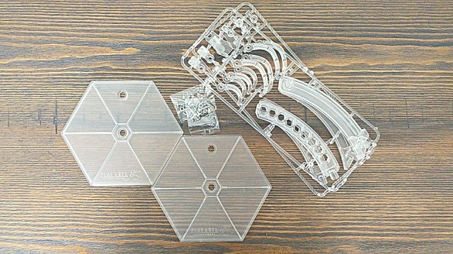 """Square Enix Play Arts Kai Plastic PVC Clear stand for 12"""" Action Figure photo review"""