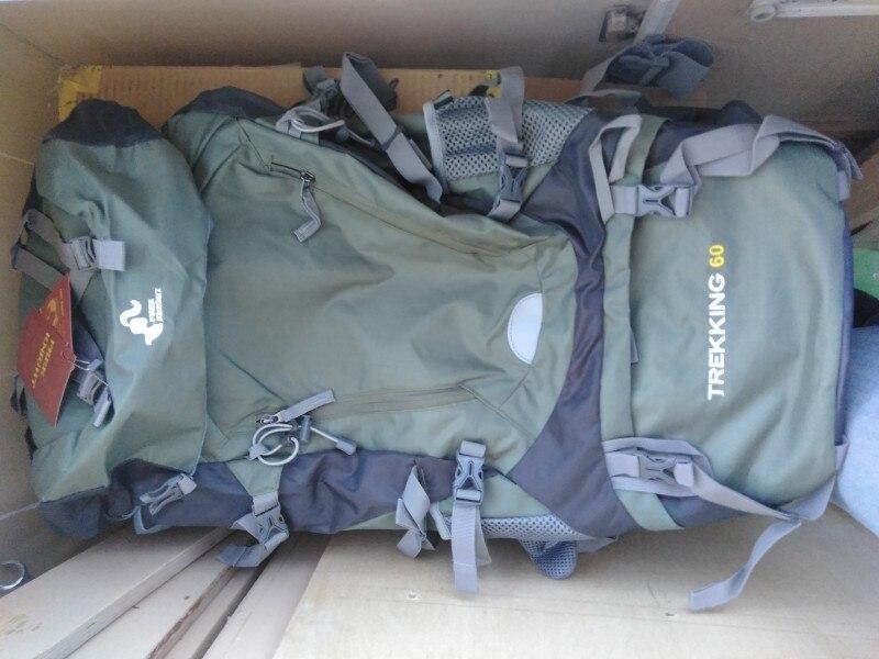 50l & 60L Waterproof Hiking Backpack Woman Outdoor Trekking Camping Bag Army Man Hunting Mountain Backpacks Rain Cover Rucksack photo review