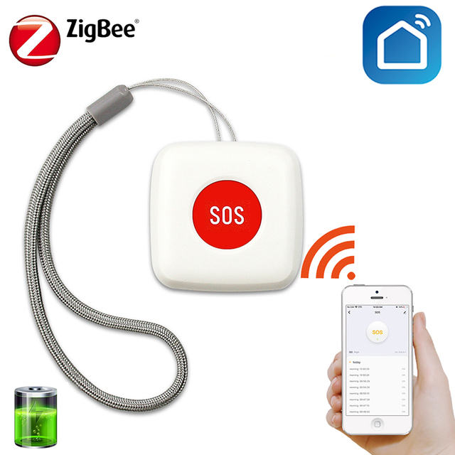 SOS Medical Emergency Elderly Help Alarm with 2/Remote Controls