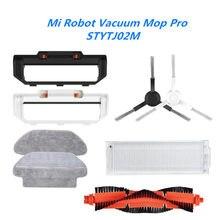 Acessórios para xiaomi mijia mi robô aspirador de pó mop pro stytj02ym robótico viomi v2 p V-RVCLM21B centro escova filtro