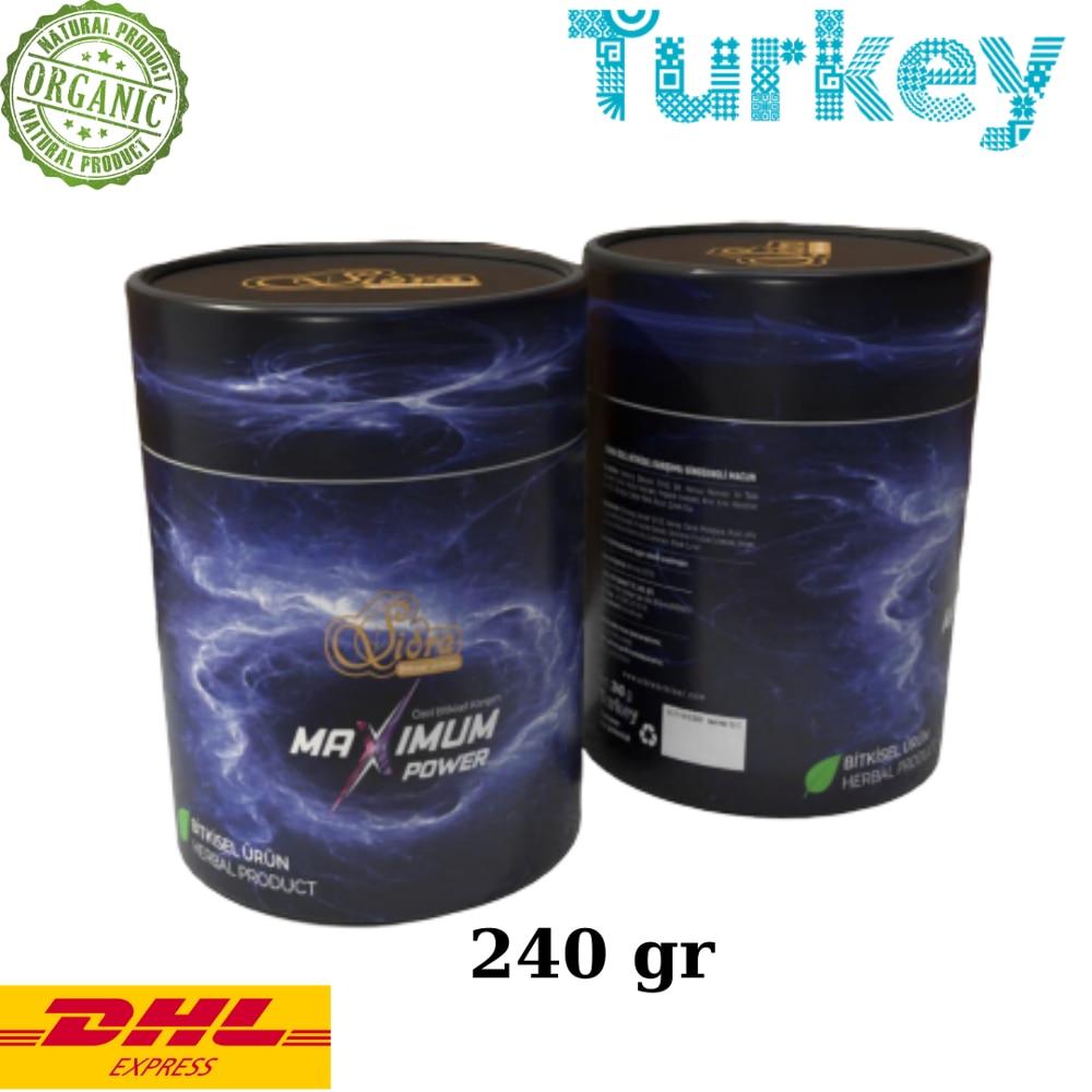 Sidra Maximum Power Plus +  Epimedium Turkish Honey Mix – Turkish Paste, 240gr. %100 Halal Aphrodisiac For Women And Men