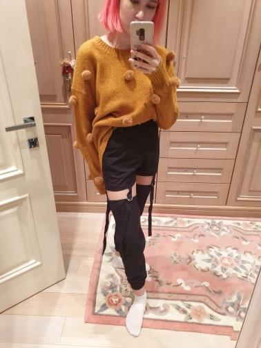 Cargo Hollow Out Pantalon E-girl photo review