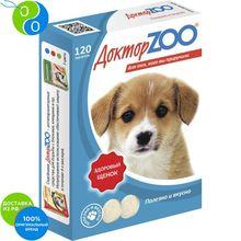 Доктор Зоо Витамины Здоровый щенок для щенков 120 таб