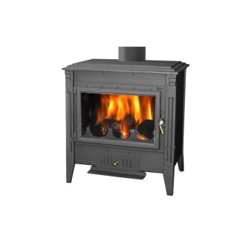 Firewood stove Veneer 700 Painted Black