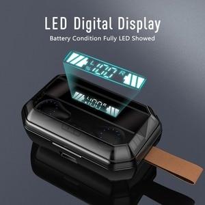 Image 3 - TWS אלחוטי אוזניות Bluetooth 9D סטריאו אלחוטי אוזניות IPX7 עמיד למים ספורט אוזניות אוזניות עם LED תצוגת אוזניות