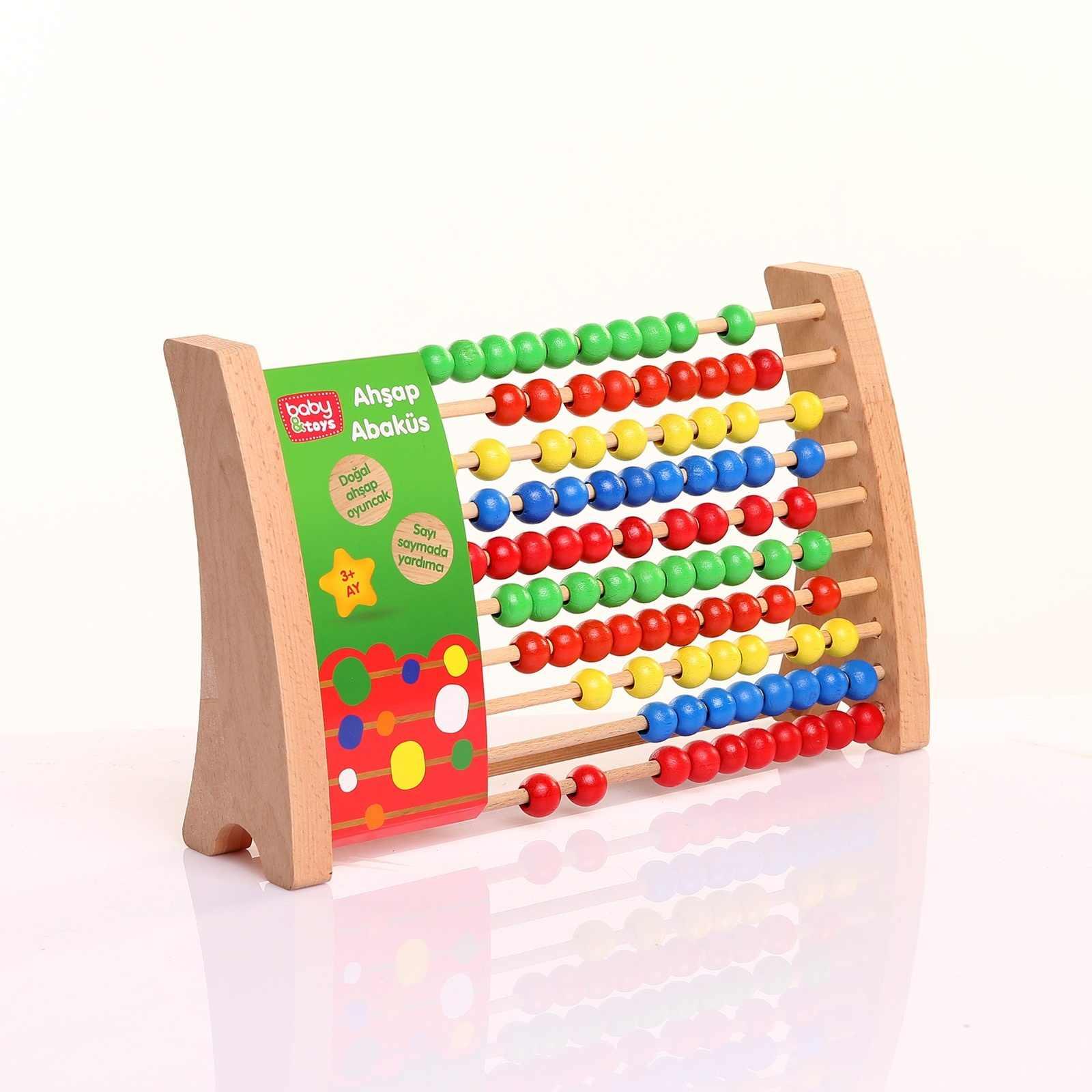 Ebebek детские игрушки деревянные развивающие счетные игрушки