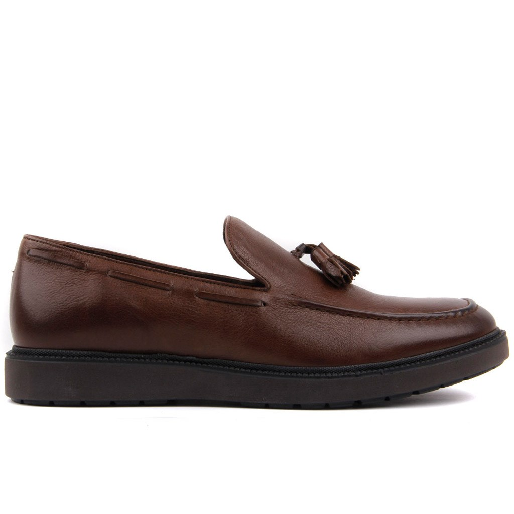 Sail Lakers-Genuine Leather Men Casual Shoes Fashion Men Shoes Men Loafers Moccasins Slip On Men's Flats Male Driving Shoes