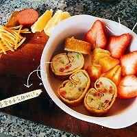 宝宝橙香土豆如意卷的做法图解7