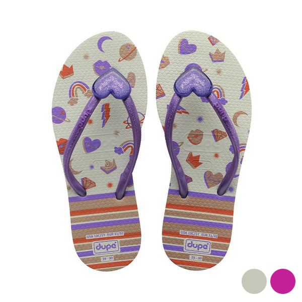 Flip Flops For Children Dupé It Girl